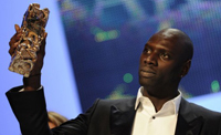 The Artist coronated favourite at the César, Best Actor award went to Omar Sy