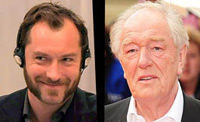 Michael Gambon, Jude Law to receive BIFA honours