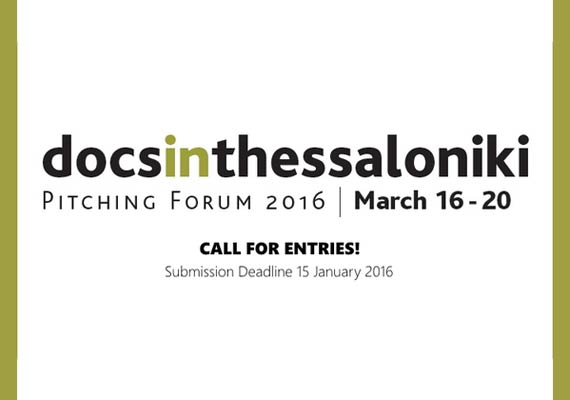 21 new documentary projects will be ready for pitching in Thessaloniki in March