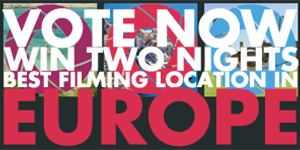 Filming Europe Location Award - Cineuropa special banner EN