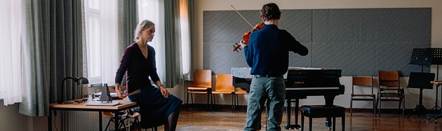The Audition - by Ina Weisse - Featuring a captivating performance from Nina Hoss, Ina Weisse's sophomore feature follows a woman trapped in the pursuit of success and abandoning her family