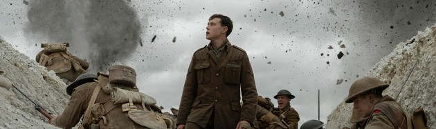 1917 - by Sam Mendes - Director Sam Mendes and cinematographer Roger Deakins have created a stunning continuous-shot dash into enemy territory during World War I