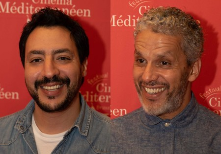 Mehdi M Barsaoui and Sami Bouajila • Director of and actor in A Son