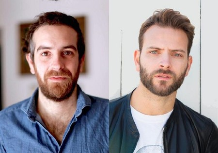 Michele Vannucci reunites with Alessandro Borghi on the set of Delta